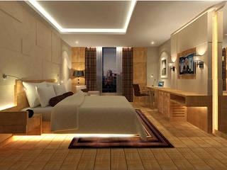Modern style bedroom by Sneha Samtani I Interior Design. Modern