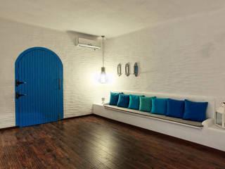 Saloni Narayankar Interiors Sala da pranzo moderna