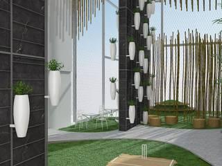 3D render Modern garden by jyotsnarawool Modern