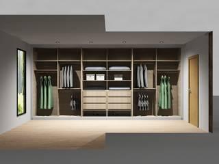 Cozinhas | Roupeiros | Moveis de banho: Closets  por Amplitude - Mobiliário lda
