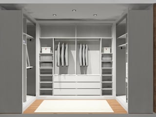 Closets de estilo moderno de Amplitude - Mobiliário lda Moderno