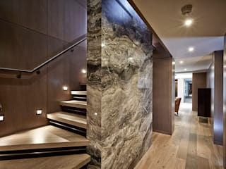 5&6 Connaught Place, Hyde Park, London. Flairlight Designs Ltd Classic corridor, hallway & stairs