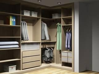 Modern Dressing Room by Amplitude - Mobiliário lda Modern