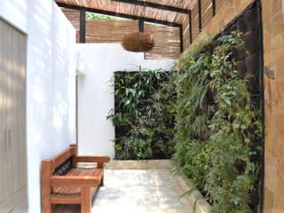 ESTUDIO DUSSAN Couloir, entrée, escaliers minimalistes