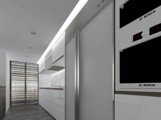 Apto PQ: Cocinas de estilo  por Odart Graterol Arquitecto