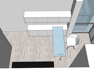 Proyecto de Amueblamiento de apartamento tendenza - diseño de interiores