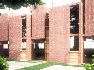 Town House Casas de estilo ecléctico de Odart Graterol Arquitecto Ecléctico