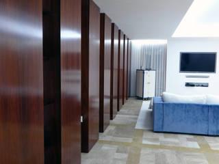 Sala de estar - Habitação Unifamiliar: Salas de estar  por Método-Arquitectura & Decoração