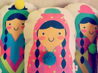Almohadón Coyita:  de estilo  por Kiut - Objetos para presumir tu casa
