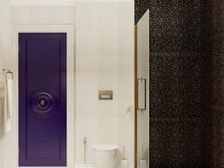 Salle de bain originale par Катя Волкова Éclectique
