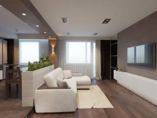 Modern Living Room by Катя Волкова Modern