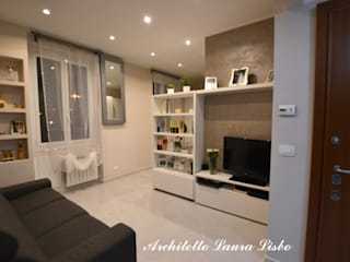 Moderne woonkamers van ARCHITETTO LAURA LISBO Modern