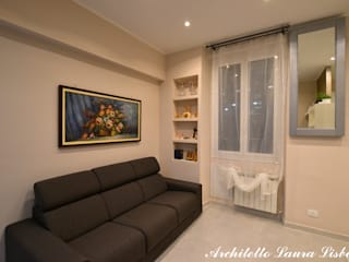 Living room by ARCHITETTO LAURA LISBO, Modern