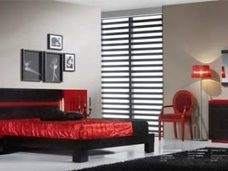 relax mobiliário e decoração DormitoriosCamas y cabeceras Derivados de madera Acabado en madera