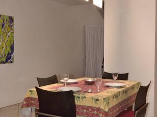 Dietmar Tappe revolite Dining roomLighting Metal Transparent
