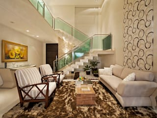 Living room by Livia Martins Arquitetura e Interiores, Minimalist
