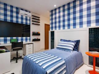 Livia Martins Arquitetura e Interiores Minimalistische Kinderzimmer