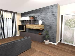 Salas de estar  por Noemy Caldarulo , Moderno