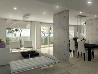 Salones de estilo moderno de Oleb Arquitectura & Interiorismo Moderno
