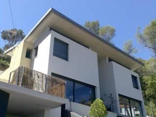 Casas de estilo moderno de Oleb Arquitectura & Interiorismo Moderno