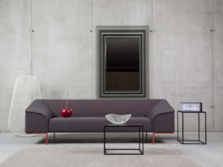 3-Sitzer Sofa aus Kroatien - Prostoria Seam: moderne Wohnzimmer von Livarea