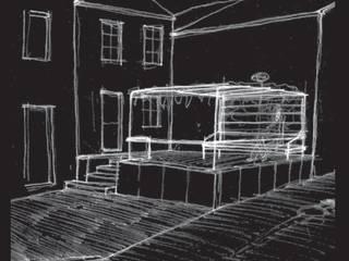 Pérgola: Jardines de estilo  de Juan Pinto - Estudio de Arquitectura