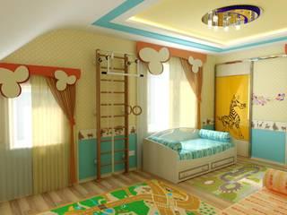 Интерьер Детской: Детские комнаты в . Автор – Цунёв_Дизайн. Студия интерьерных решений.