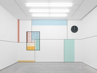 Twenty Sixteen Espaços de trabalho minimalistas por Twelve Four Haus Minimalista