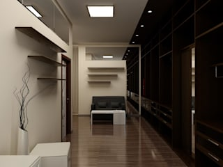 Гардеробная комната: Гардеробные в . Автор – Цунёв_Дизайн. Студия интерьерных решений.