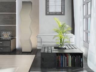 """Визуализация комнаты """"Современный Японский"""" Гостиная в азиатском стиле от Alyona Musina Азиатский"""