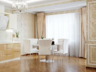 Classic style dining room by Студия дизайна Interior Design IDEAS Classic