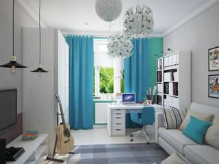 Современная квартира для современной семьи: Детские комнаты в . Автор – MEL design
