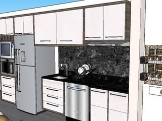 Kitchen units by Graziela Alessio Arquitetura