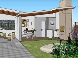Garage/shed by Graziela Alessio Arquitetura