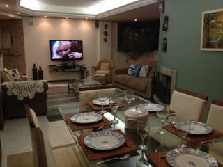 Living room by Graziela Alessio Arquitetura