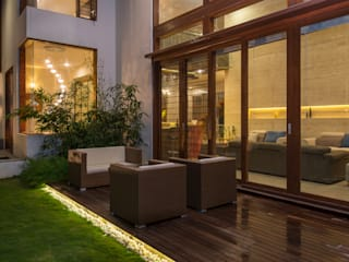 Balcones y terrazas modernos de studio XS Moderno