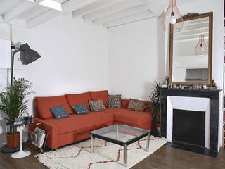 Livings de estilo moderno de Croisle Architecture Moderno