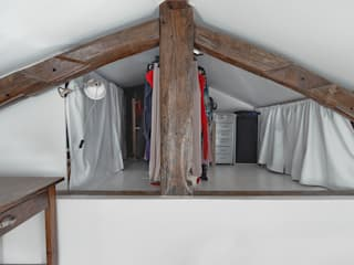 غرفة الملابس تنفيذ Croisle Architecture