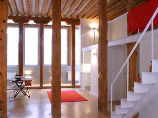 Salas de estilo moderno de Beriot, Bernardini arquitectos Moderno