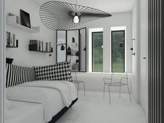 Phòng ngủ theo Sic! Zuzanna Dziurawiec, Hiện đại