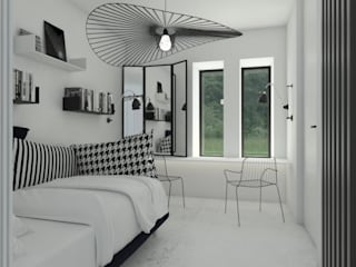 Cuartos de estilo  por Sic! Zuzanna Dziurawiec, Moderno