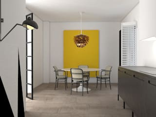 Eclectic style dining room by Sic! Zuzanna Dziurawiec Eclectic