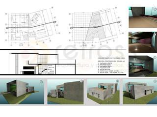Casa de Campo Agua Linda_Edo Lara Casas de estilo minimalista de retross arquitectura y proyectos Minimalista