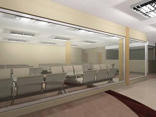 Proyecto de Ampliacion Hospital HER Pasillos, vestíbulos y escaleras de estilo clásico de retross arquitectura y proyectos Clásico