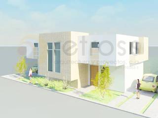 Anteproyecto Urbanismo Syracuses Casas de estilo minimalista de retross arquitectura y proyectos Minimalista