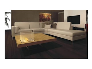 Modern living room by HERKELL Modern