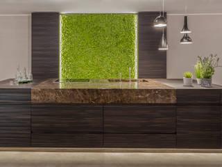 BandIt Design Cucina moderna Granito Marrone