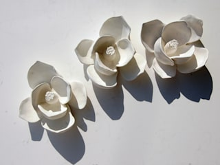 FLORES de GESSO Iva Viana:   por Iva Viana Atelier de Escultura