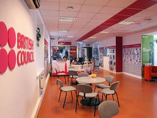 Интерьер British Council в Киеве Офисные помещения в скандинавском стиле от Студия дизайна Саши Федоренко Скандинавский