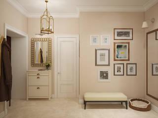 «Студия 3.14» Eclectic corridor, hallway & stairs